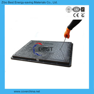 850X650mm Rectangular Resin Anti-Theft SMC Replacement Manhole Covers pictures & photos