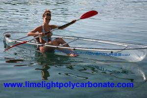 Transparent Kayak, Clear Kayak, PC Kayak, Polycarbonate Kayak, Touring Kayak, Sport Kayak, Fishing Kayak, Kayak Paddling, Clear Canoe, Transparent Canoe Kayak