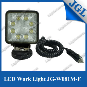24W Magnet LED Work Light 4inch Auto LED Work Lamp