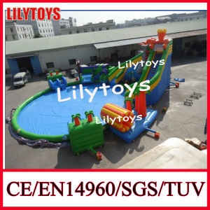 Inflatable Water Pool Park, Water Park with Big Pool Rd-40 pictures & photos
