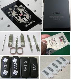 Ce Metal Laser Marker Nonmetal Flying Fiber Laser Marking Machine pictures & photos