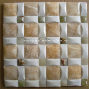 Ceramic and Marble Stone Mosaic Tile for Decoration / Background Wall pictures & photos