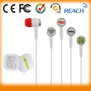 Custom Logo/High Quality in-Ear Stereo Earphone pictures & photos