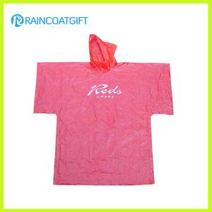 Pink PE Rain Ponchos RGB-120 pictures & photos