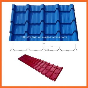 Dx Cheap Metal Roof Roll Forming Machine pictures & photos