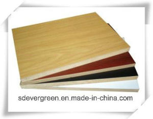 Chinese Melamine MDF for Furniture with High Quality
