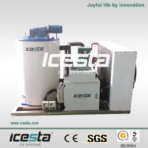 Icesta 3t Remote Controlled Flake Ice Maker pictures & photos