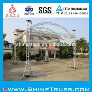 Truss System, Stage Portable Truss with Roof pictures & photos