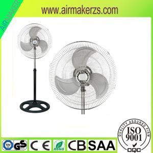 18inch Stand Fan with Transparent Metal Blades pictures & photos