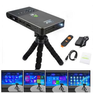 2017 Factory Wholesale DLP Projectors C2 Mini LED Portable Mobile 3D 1920X1080 Mini Projector pictures & photos
