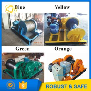 Steel Cable Winch Pulling Underground Cable pictures & photos