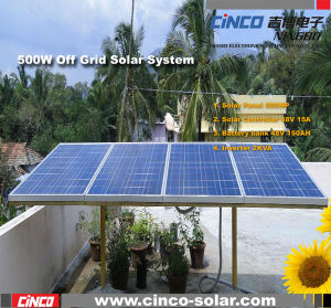 500W Off-Grid Solar Power System, Stand-alone PV Solar Generator for home Used