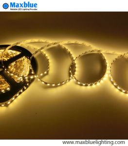 High Quality SMD3528 120LEDs/M Slim LED Strip Light DC12V 5mm pictures & photos