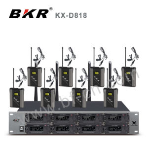 Kx-D818 Pll 8CH UHF Wireless Conference System pictures & photos