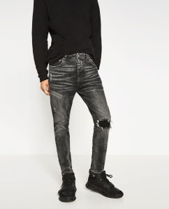 Men Slim Jeans Pant pictures & photos
