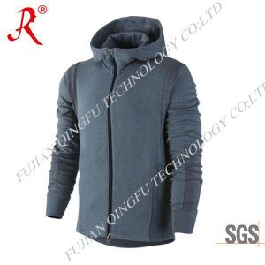 Men′ S Modern Fleece Jacket with New Design (QF-4094) pictures & photos
