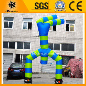 Double Leg Inflatable Blue Air Dancer