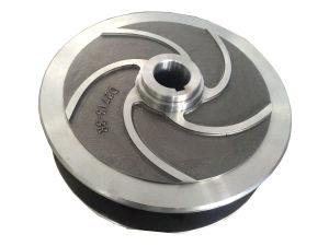 Duplex Stainless Steel Pump Impeller