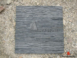 Natural Black Slate Culture Stone for Wall Cladding pictures & photos