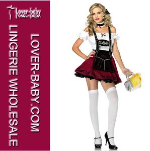 Women′s Sexy Stein Babe Costume Beer Girl Costume (L15275) pictures & photos