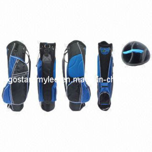 Black and Blue Simple Nylon Golf Cart Bag Gl-9139 pictures & photos