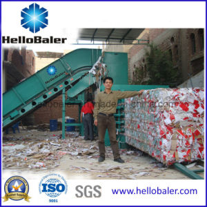 Horizontal Waste Paper Baler From Hellobaler Hsa4-5 pictures & photos