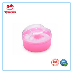 Convenient Baby Powder Puff Box for Storage Powder pictures & photos