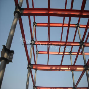 Five Storey Steel Structure Building with Civil Wall pictures & photos