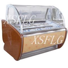 Ice Cream Cake Display Freezer/Gelato Cake Display Freezer pictures & photos