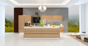 Modern Lacquer Door Kitchen Furniture (zz-022) pictures & photos