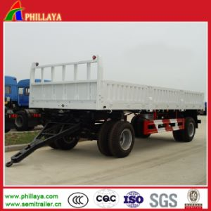 2 Axles Full Trailer for Tractor Transportation pictures & photos