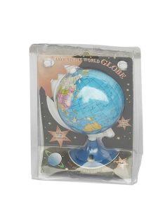 Dia 8.5cm Paper Globe with Sharpener (J306)
