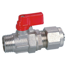 Brass Mini Ball Valve (BV-1027) with Aluminium Handle
