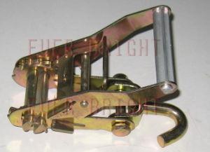 "2"" Aluminum Ratchet Buckle W/Swivel Hook"