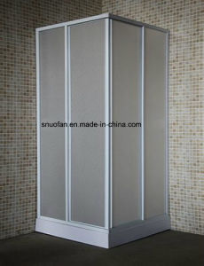Good Quality Square PP PS Plastic Shower Enclosure Room pictures & photos