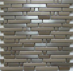 Mosaic Wall Tile, Stainless Steel Metal Mosaic (SM262) pictures & photos