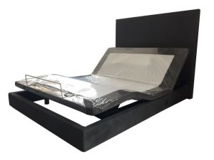 New Product USB Bed electric Bed Adjustable Bed with Surounding Headboard pictures & photos
