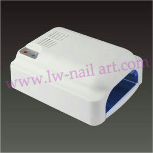 Nail Art 36W UV Gel Cure Lamp with 90s 120s Timer with Fan White Color