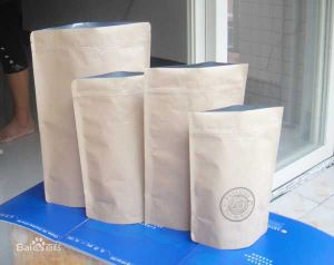 Kraft Close Bag, Food Safe Paper Bags pictures & photos