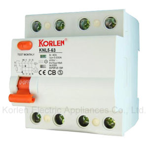 High Quality RCCB Knl5-63 (ID) Residual Current Circuit Breaker pictures & photos