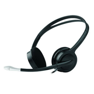 PC Headset with Adjustable Microphone