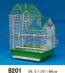 Green Metal Cage (B201)