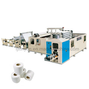 Non stop automatic small toilet paper making machine production line pictures & photos