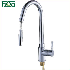 Flg Chrome Single Kitchen /Sanitary Ware Faucet /Tap/Mixer pictures & photos