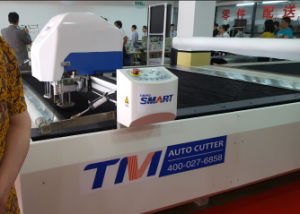 Tmcc-2225 Industrial High Ply CNC Automatic Cloth Cutter Leather PU Garment Textile Fabric Cutting Machine pictures & photos