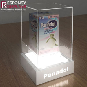Lighting Articles for Babies Small LED Display Acrylic Display Box Counter Display Box pictures & photos
