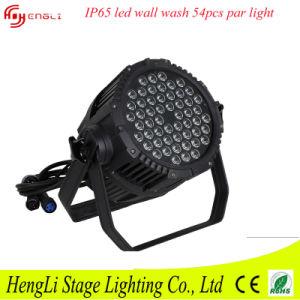 Hot Selling 54 Peies 3 Watt Waterproof LED PAR Light pictures & photos