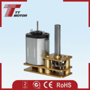 Low speed 12V DC brush gear motor for computer peripheral pictures & photos