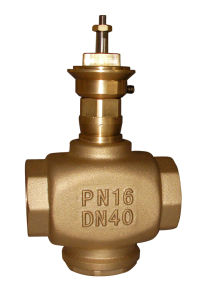 2 Way/3 Way HVAC Brass Regulating Modulating Valves (CV0253) pictures & photos