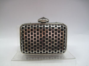 Evening Bag Clutch with Push Top Opening pictures & photos